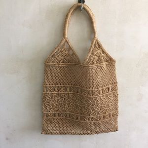 The perfect woven straw tote